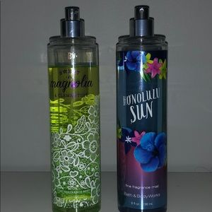 Other - Bath and body works body sprays!! 2